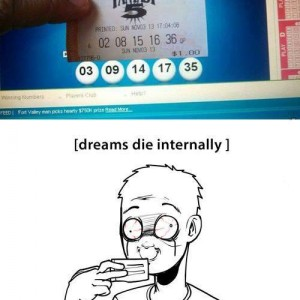 Dreams die internally