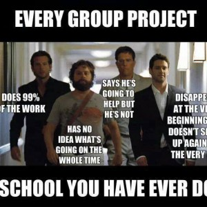 Every group project of school