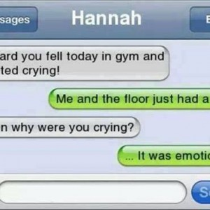 Falling in the gym