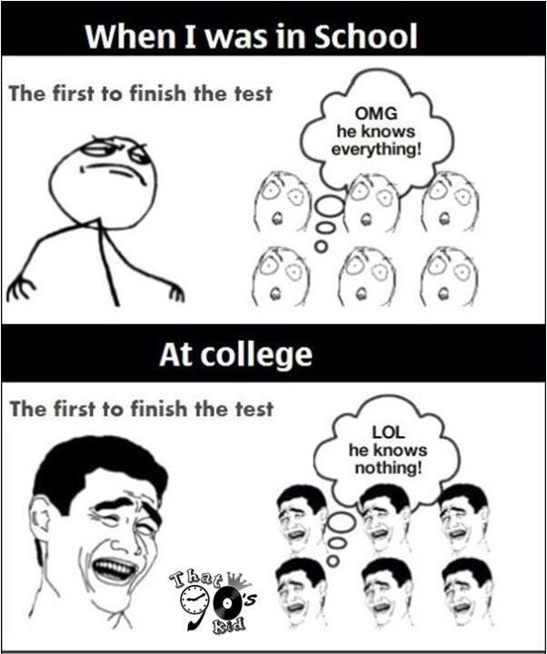 Funny Quotes About School Tests: Funny Pictures, Quotes, Memes