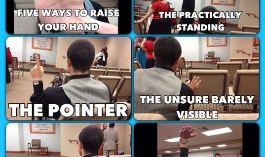 Five ways to raise your hand