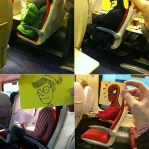 Funny Airplane Passengers