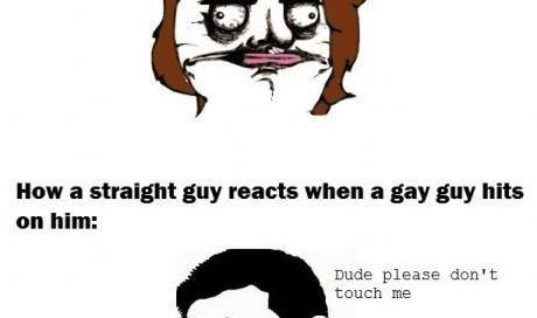 Girls and Boys reaction to other people