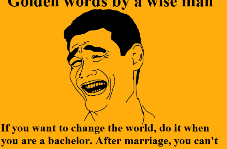 golden words by a wise man funny pictures quotes memes funny