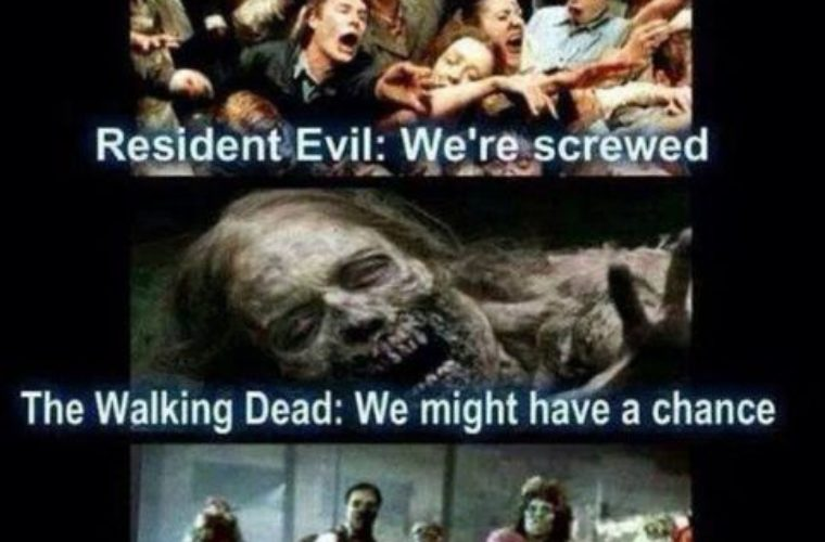Funny Zombie Memes : If the zombie apocalypse happens like funny pictures quotes