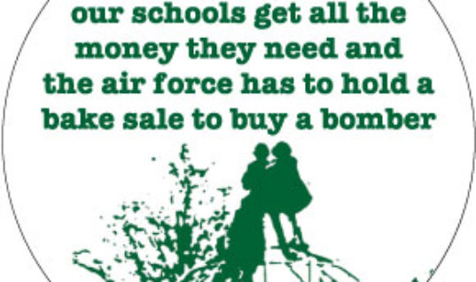 Inspirational quote money schools war bomb