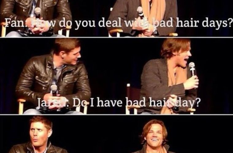Jensen's reaction is gold