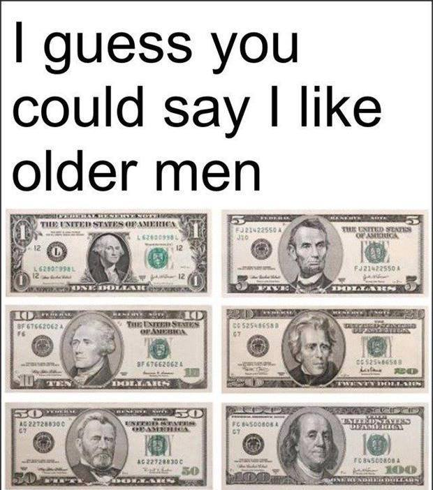 liking older guys