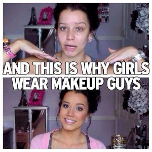 Makeup changes everything