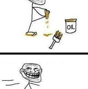 Oil don't mix water