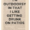 Outdoorsy definition meaning