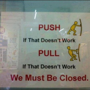 Push or Pull?