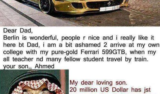 Rich Arab Dad