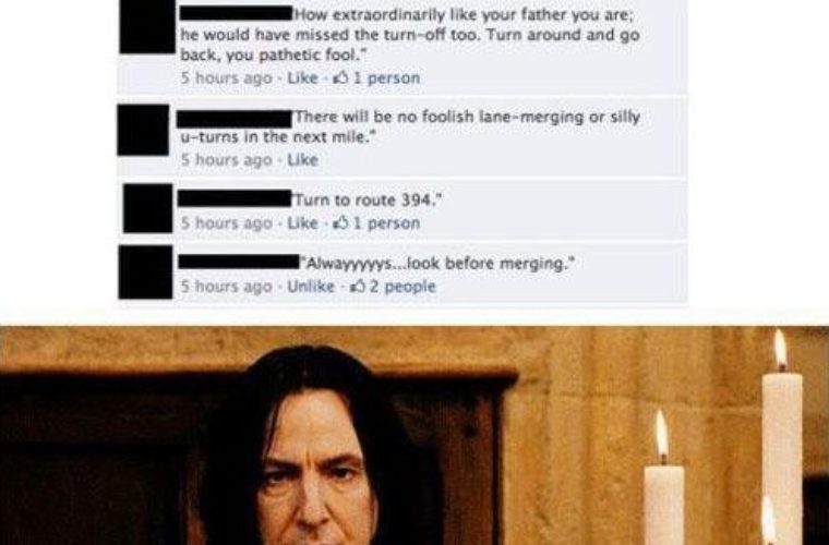 Snape Approves
