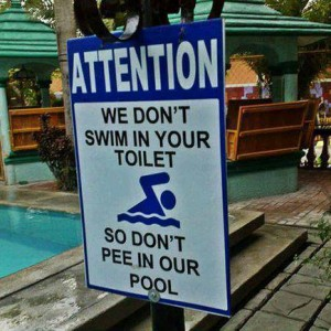 Swimming Pool Notice