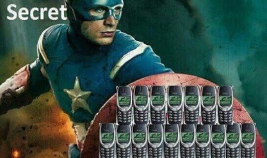 The Captain America's secret