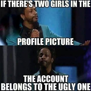 Two girls in profile picture