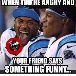 When you're angry..