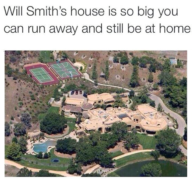 Will Smiths House Funny Pictures Quotes Memes Funny Images