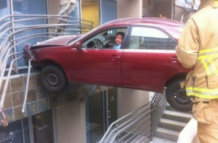 Wrong place for parking