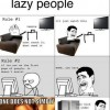 3 rules of laziness