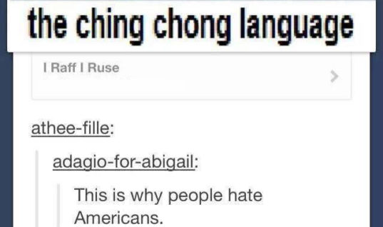 Why do Asians speak