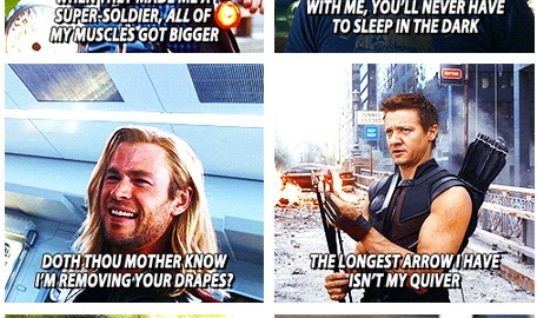 Avengers pick-up lines