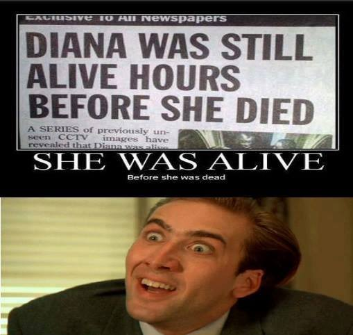 Diana was still alive diana was still alive funny pictures, quotes, memes, funny images