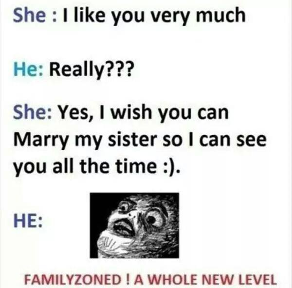 Familyzoned - a whole new level