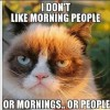Hate Morning People