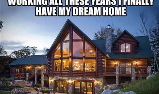 I finally have my dream home