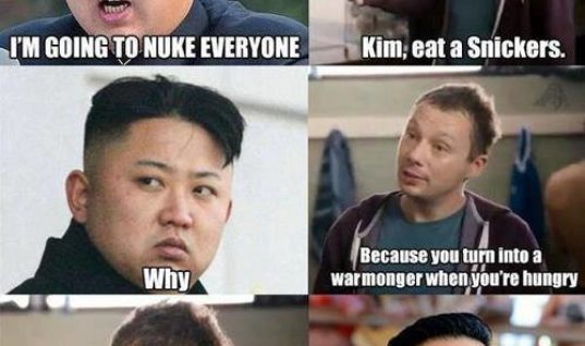 Kim, eat a snickers