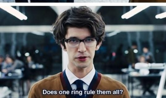 LOTR reference in Skyfall XD
