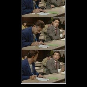 Me during exams