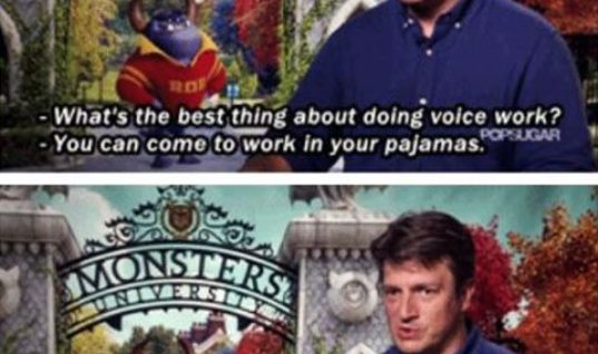 Nathan Fillion, everybody!