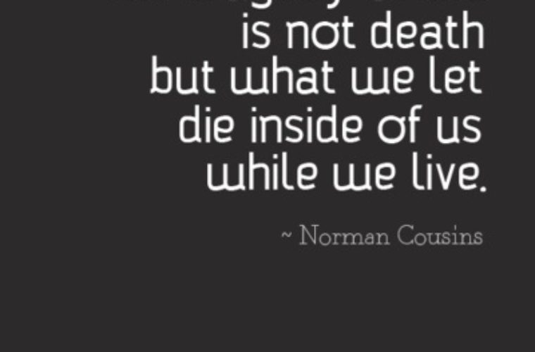 Norman Cousins Quote