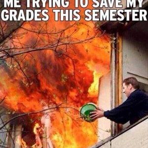 That's not gonna save your grades