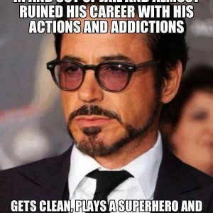 There can be only one Robert Downey Jr