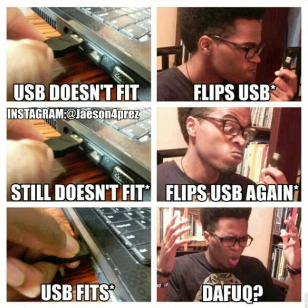 USB doesn't fit