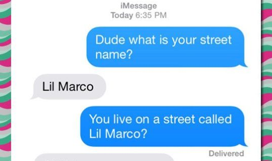 What's your street name