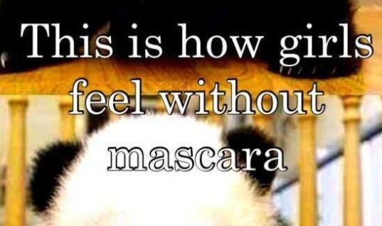 Without Mascara