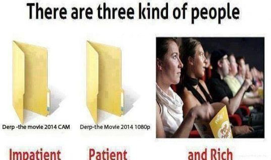 3 kinds of movie people