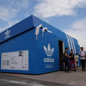 Adidas shop in Holland