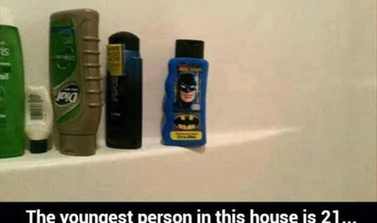 Batman Shampoo
