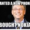 Bill Gates wanted a new phone