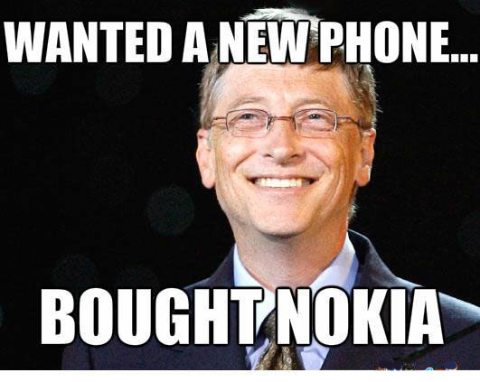 Funny Memes For Phone : Bill gates wanted a new phone funny pictures quotes memes