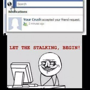 Crush on Facebook