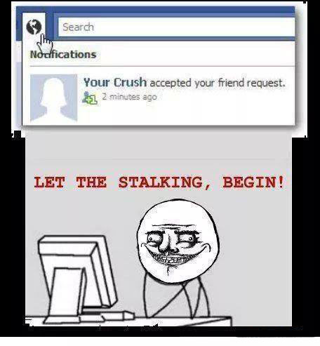 Crush On Facebook Funny Pictures Quotes Memes Funny Images Funny Jokes Funny Photos