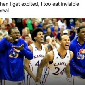 Eat invisible food
