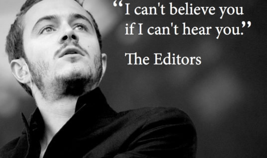 Editors Story Quote